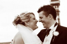 Blackpool Tower Wedding Photo by Happy Wedding Photographer