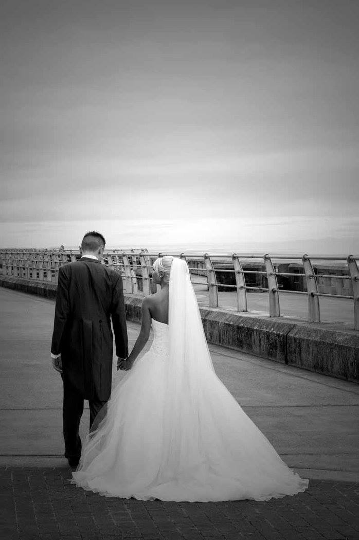 Blacckpool Wedding Photography by Happy Photography on the Prom