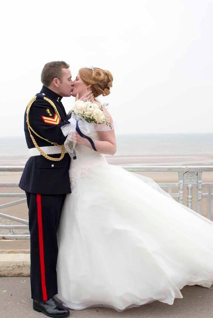 Blackpool Prom Wedding Photo by Happy Wedding Photographer