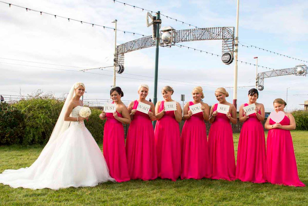 Blacckpool Wedding Photography by Happy Photography at The Carousel Hotel